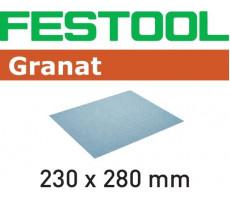 Feuille abrasive FESTOOL pour ponçage manuel - 230 x 280