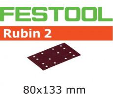 Abrasif pour ponçeuse FESTOOL Rubin 2 - 80 x 133 mm
