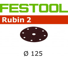 Abrasif pour ponçeuse FESTOOL Rubin 2 - Ø 125 mm