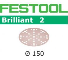 Abrasif pour ponçeuse FESTOOL Brilliant 2 - Ø 150 mm