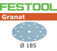 Abrasif pour ponçeuse FESTOOL Granat  - Ø 185 mm
