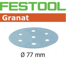 Abrasif pour ponçeuse FESTOOL Granat  - Ø 77 mm
