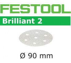 Abrasif pour ponçeuse FESTOOL Brilliant 2 - Ø 90 mm