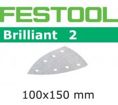 Abrasif pour ponçeuse FESTOOL Delta 7 - Brilliant 2 - 100 x 150 mm