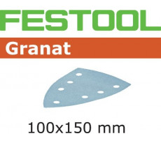 Abrasif pour ponçeuse FESTOOL Delta 7 - Granat - 100 x 150 mm