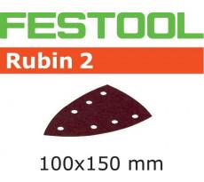 Abrasif pour ponçeuse FESTOOL Delta 7 - Rubin 2 - 100 x 150 mm