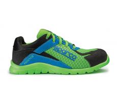 Chaussure de sécurité S24 SPARCO Practice - Noir vert/bleu - 07517