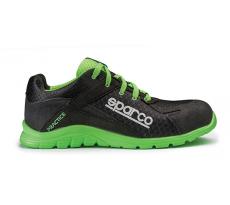 Chaussure de sécurité S24 SPARCO Pratice - Noir vert - 07517