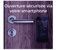 Clé connectée MobileKey SIMONS VOSS  - Version Confort