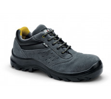 Chaussures de sécurité S24 Cabana S1P - Croute de cuir velour gris - 5712