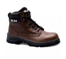 Chaussure de sécurité S24 JUNGLE S3 - Pleine fleur marron - 5302