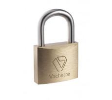 Cadenas sûreté AJAX 1322 VACHETTE - laiton à goupille - 2 clés plates - 1538