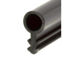 Joints tubulaires T 347-357-387 KISO - PVC noir - Rainure 3mm - T347-357-387