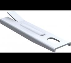 Pattes à sceller MANTION SA - Pour rail tubulaire - QPE08200