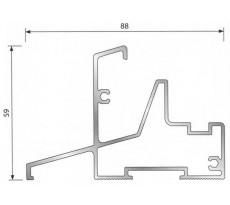 Seuil et accessoires PB58 JO2 pour porte-fenêtre bois BILCOCQ - PB58JO2