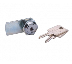 Barillet batteuse à paillettes chromé série 311-312 BAT.F VACHETTE - 1/2T + 2 clés - 1272