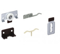 Kit coulissant SlideLine 56 HETTICH pour armoire 2 ou 3 portes - SLIDELINE56