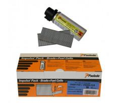 Packs de pointes droites + Cartouches de gaz F18 SPIT pour cloueur IM200 - 39519