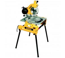 Scie à table et à onglets retournable DEWALT 2000 W - Guide - DW743
