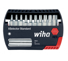 Coffrets d'embouts de vissage X Selector + rallonge WIHA - TX/PZ/PH - 2698
