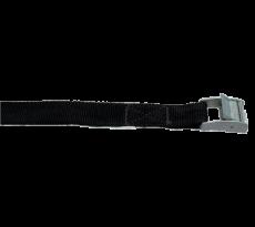Sangle avec boucle en zamak VISO - largeur 25 mm