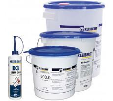 Colles vinyliques D3/D4 KLEIBERIT - 303 - à prise rapide pour placage et assemblages