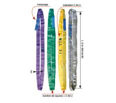 Elingue ronde LEVAC - L. utile - CMU - Coef.utile 7:1