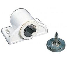 Loqueteau magnétique MS - Contre plaque ronde W4 ARELEC - QPE08689