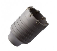 Trépan couronne au carbure et porte-trépan DIAGER pour perforateur SDS-MAX - 300/330