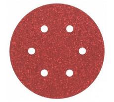 Disque papier velcro rigide VC153 6 trous HERMES - Ø150 mm