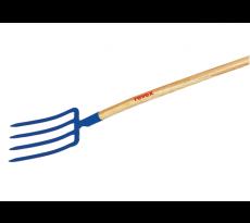 Fourches à bêcher douille 4 dents triangles 30 cm REVEX - Sans manche - 18