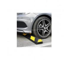 Butée caoutchouc PARKSTOP + Fixation asphalte VISO