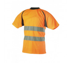 Tee-shirt Haute Visibilité SINGER - Orange - SUZO