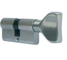 Cylindre 30B City bouton LN varié nickelé CAVERS ISEO - 525930