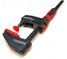 Serre-joint à engrenage Gearklamp BESSEY - serrage jusqu'à 600  mm - saillie 60 mm - rail 19 x 6 mm