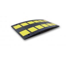 Coussin ralentisseur VISO noir et jaune - SAFETY
