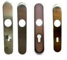Paire de plaques BLINDOMAX pour ensemble bec de cane - 941