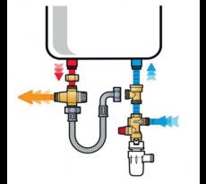 Kit de sécurité chauffe-eau KMIXVE et siphon ZES26 THERMADOR