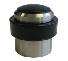 Butoir de sol avec cheville + vis alu BLINDOMAX - Ø37 x H.37 mm - 22
