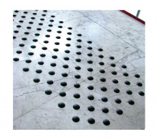 Gabarit de perçage et plots podotactiles Dinaplot DINAC - 1022
