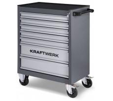 Servante d'atelier Basic Line B107 60/40 et outils KRAFTWERK - 101
