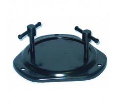 Base tournante 360° acier pour étaux DOLEX