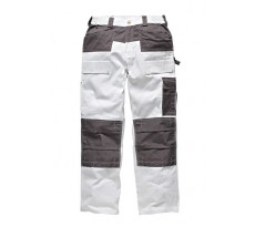 Pantalon DICKIES Duo-Tone - Blanc - 290Gr 100% coton - WD4930