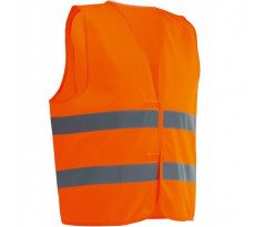 Gilet de signalisation Haute visibilité SINGER - Orange - VPLGILO