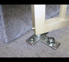 Kit pivot de portail à cheviller ING FIXATIONS