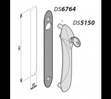 Platine pour poignée Senzo et Solo LACROISÉEDS - 6764