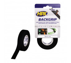 Back grip noir HPX - 16mm x 5m - BG1605