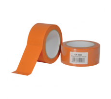 Carton de 36 rouleaux ruban adhesif pvc orange gamme chantier 50mmx33m  et5033