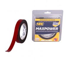 Ruban Max Power Outdoor double face HPX - noir 19mm x 5m - OT1905