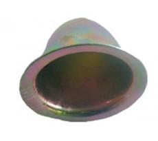 Rosace conique ING Fixation Ø14 x 32 mm - Zingué jaune - boîte de 100 - A503010